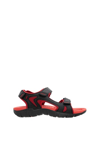 SEMBONIA red SEMBONIA Men Microfiber Sandal (Red) 6E629SHD701CF9GS_1