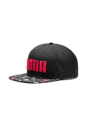 more photos a5136 f80a3 PUMA black Flatbrim Hat 9914CAC7EC86ACGS 1