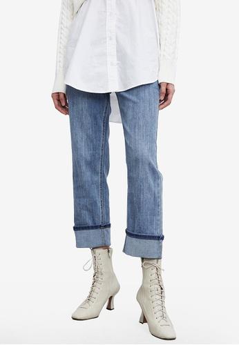 Urban Revivo blue Casual Jeans D27E3AA4563DFFGS_1