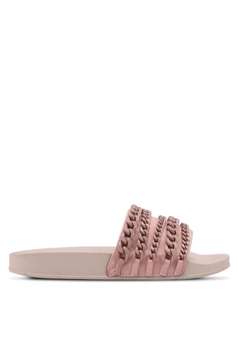 Carlton London pink Weaved Sandals 02F70SHC8A8086GS_1