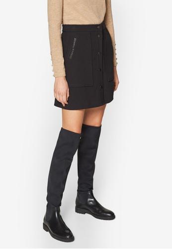 ESPRIT black Woven Mini Skirt BDE57AA6B52B17GS_1