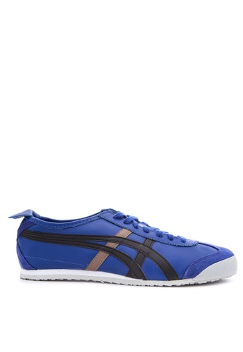 Onitsuka Tiger black and blue Mexico 66 Sneakers ON625SH67PVCPH_1