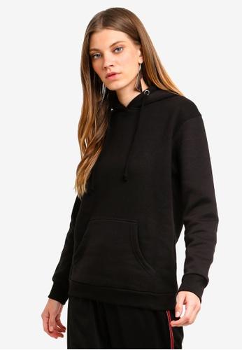 Brave Soul black Hooded Sweatshirt D1B47AA88CBA84GS_1