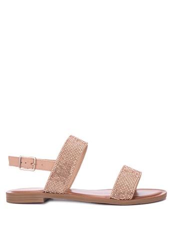 ALDO gold Hyginus Sandals 4C1D0SHD6FF743GS_1