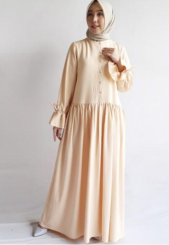 Covering Story beige Aniq Dress A E14A7AA274DB20GS_1