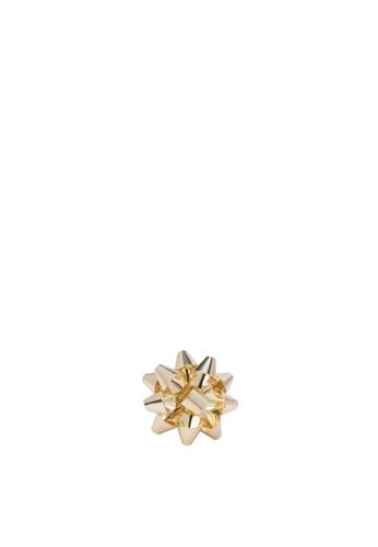 Something Borrowed gold Present Ribbon Ring SO819AC08POPPH_1