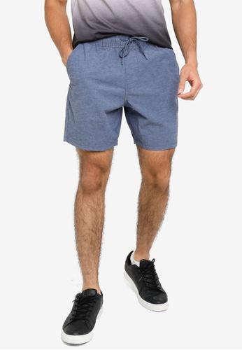 Hollister navy Jogger Shorts CCAC6AA6A2D0E9GS_1