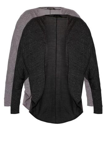 二入基本款寬鬆開襟外套, 服zalora 評價飾, 外套