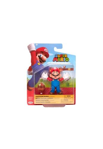 Kidmoro Nintendo Super Mario: W20 RACCOON MARIO w/ SUPER LEAF Poseable 4-inch Figure with Accessories 2AC83ES4EAB2F2GS_1