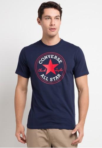 Converse navy Patch Tee 9F01DAA811303CGS_1