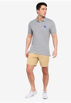 ad7b7a6d484b 24% OFF Abercrombie   Fitch Exploded Polo Shirt S  98.00 NOW S  74.90 Sizes  XS S M L XL
