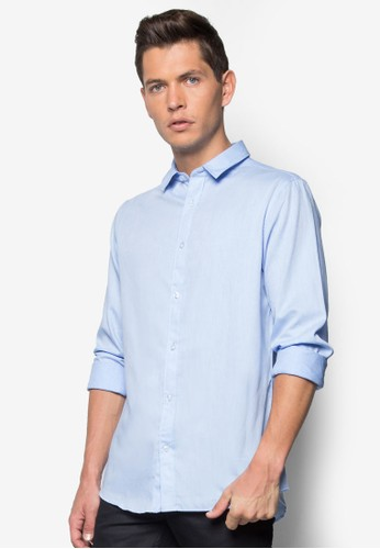 Thulani 基本款長袖襯衫,esprit旗艦店 服飾, 襯衫