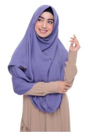 First Hijab purple Alika Pashmina Instant In DPurple 39F13AA0C62481GS_1