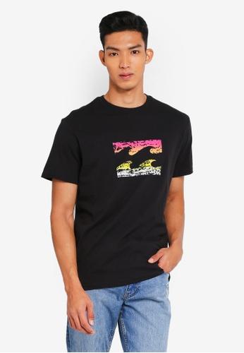 Billabong 黑色 休閒品牌印花T恤 7AD49AA7A7D665GS_1