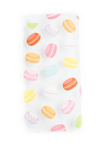 Fancy Cellphone Cases multi Macaroons Soft Transparent Case for iPhone 5/5s/SE                     FA644AC53IOGPH_1