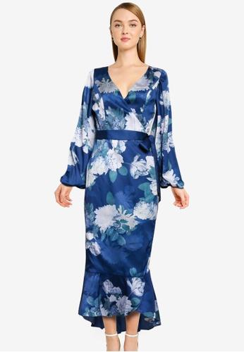 CHI CHI LONDON blue Chi Chi Salome Dress DD8ACAAC1B9A57GS_1