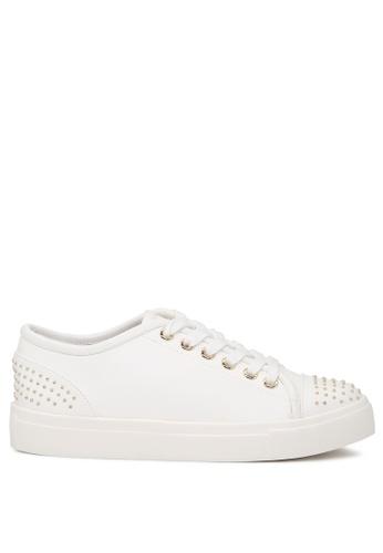 London Rag white Casual Studded Sneakers SH1717 1E380SHECD82E7GS_1