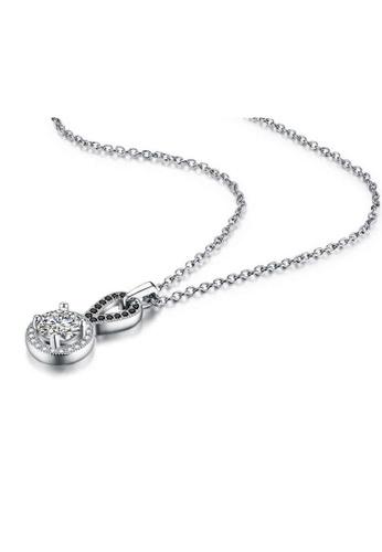 A-Excellence white Premium Elegant White Sliver Necklace 2E956AC4693228GS_1