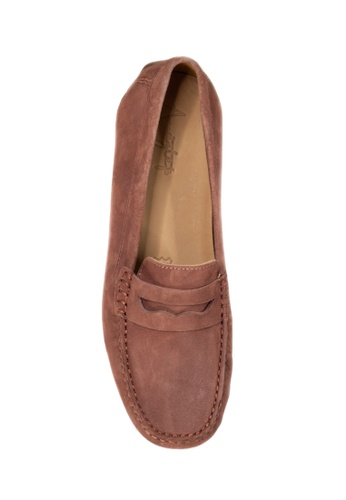 a231868840a Buy Shu Talk Amaztep Comfortable Penny Suede Leather Loafers Online on  ZALORA Singapore