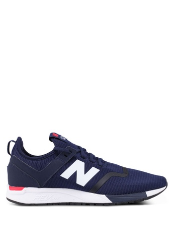 New Balance navy 247 Deconstructed Lifestyle Sneakers BB598SH926C1CAGS_1