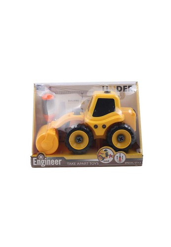 Locally Blend yellow Engineer Truck Take Apart Toys 3733BTHF491BDAGS_1