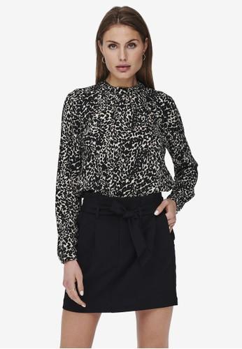 ONLY multi Mallory Long Sleeve Blouse 1648AAA3E48792GS_1