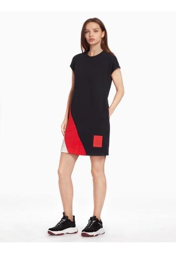 6b338504b583 Buy Calvin Klein Calvin Klein Knit Color Block Dress Online on ...