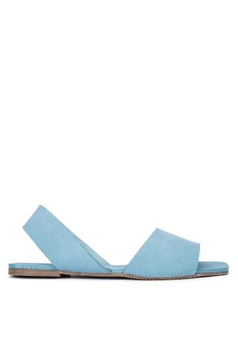 Janylin blue Slingback Sandals 23CFFSH28F260EGS_1