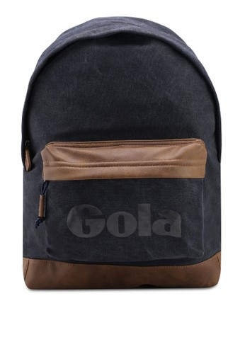 Gola multi and navy and brown Harlow Canvas Backpack B704FACC5BAC4FGS_1