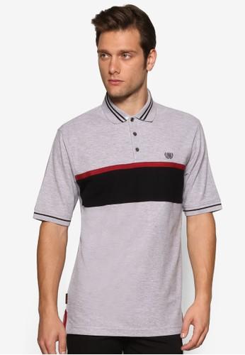 撞色條紋POLO 衫, 服zalora 心得飾, Polo衫