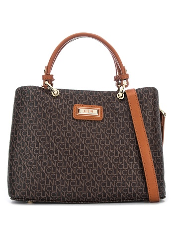 CLN brown Blessed Tote Bag 4A2E0ACCDC27FEGS_1