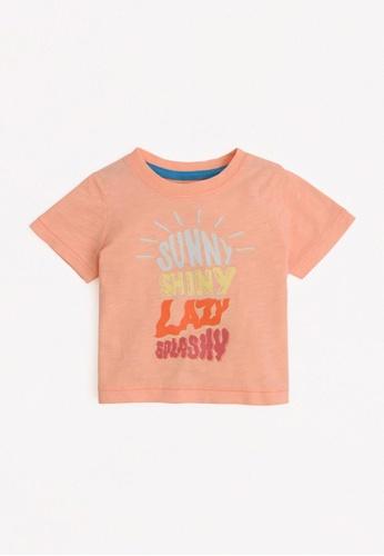Gingersnaps orange Baby Boys Sunny T-Shirt 09DFBKA8900ED4GS_1