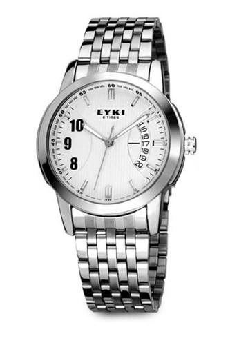 EYesprit taiwanKI E-TIMES w8408 不銹鋼指針錶, 錶類, 不銹鋼錶帶