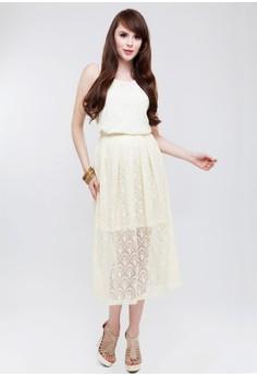 Demi Lace Maxi Skirt