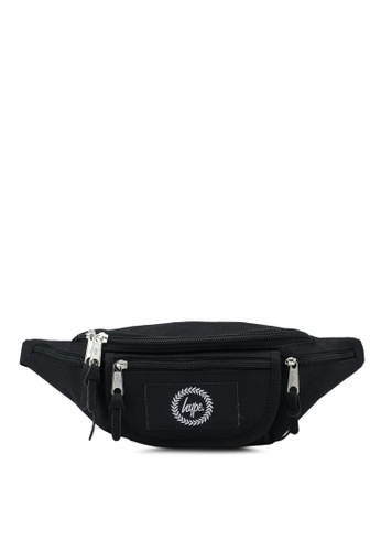 Just Hype black Insignia Bumbag BEDDDAC8128FD9GS_1
