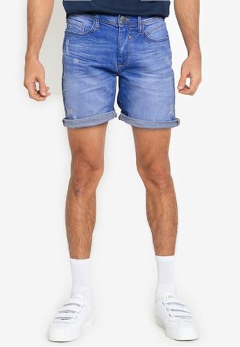 BLEND blue Twister Slim Fit Denim Shorts 132D5AAC3F8E2EGS_1