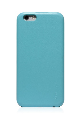 Monocozzi blue Posh Soft Leather Shell Case For iPhone 6 Plus MO983AC55BXKHK_1