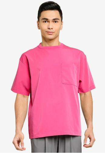 niko and ... pink Oversize Pocket Shirt 3E546AA884E100GS_1