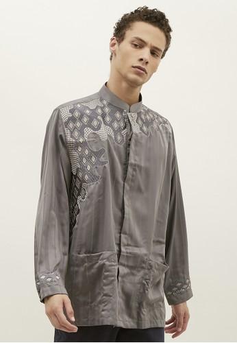Woffi grey Temirtau Koko Shirt 7E84EAACA6C6F0GS_1