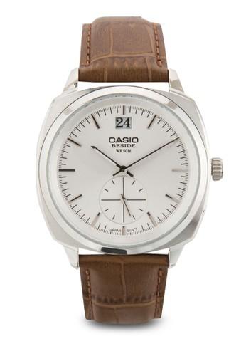 BEM-150L-7AVDF 真皮男錶、 錶類、 飾品配件CasioBEM-150L-7AVDF真皮男錶最新折價