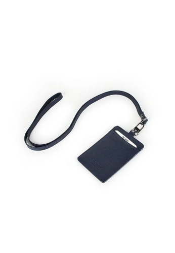 Picard 海軍藍色 Picard Digi Pass Case and Neck Strap Set in Navy 89572ACB0D43B6GS_1