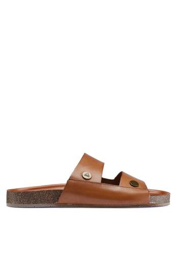 ALDO brown Unayssi Sandals 5FEA7SH8232E0EGS_1