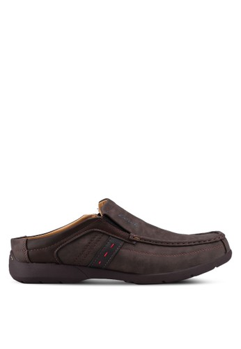Louis Cuppers brown Casual Open Back Slip On Shoes DA7FASH74A3424GS_1