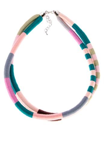 IRAYA-MANGYAN ART multi Thread Necklace Set of 3 7DDCEAC6228D95GS_1