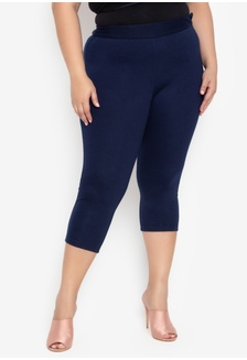 1eb41103dc0 Plus Size Carine Cropped Leggings Pants 1C0B4AAA7714E2GS 1 Curvy ...