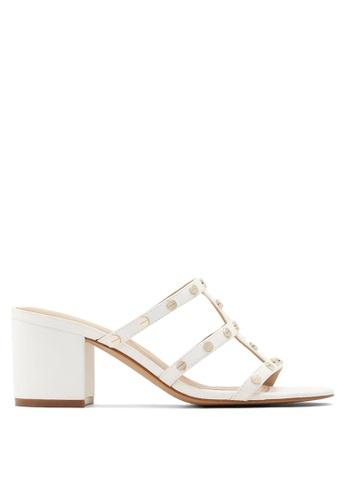 ALDO white Deawien Heels 200E3SHEAAC0B5GS_1