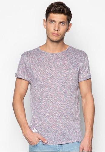 esprit outlet混色圓領T 恤, 服飾, 服飾