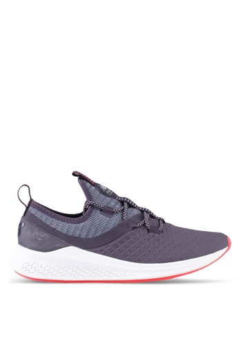 New Balance purple LAZR (Hyposkin) Fresh Foam Performance Running Shoes NE323SH0SXN3MY_1