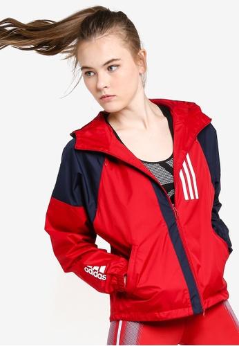 f2c34129a1 adidas w wnd jacket l
