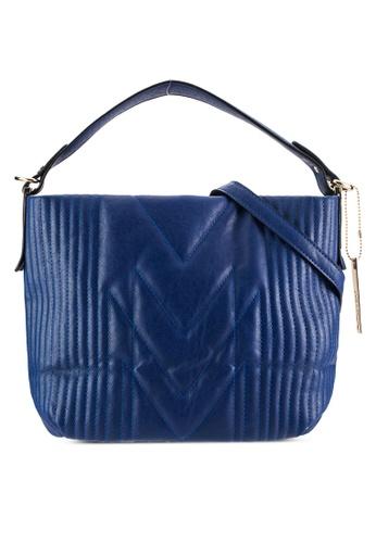 Perllini&Mel navy Single Handle Sling Bag PE444AC71WLCMY_1